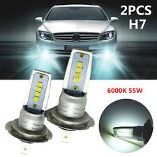 6000K 55W White H7 LED Bulb Canbus Car Headlight Fog Light Lamp Fit for Chrysler