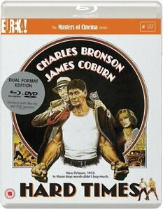 Hard Times (1975) [Masters of Cinema] Dual Format (Blu-ray and DVD) edition