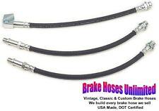 BRAKE HOSE SET Dodge Challenger 1972 - Front Drum