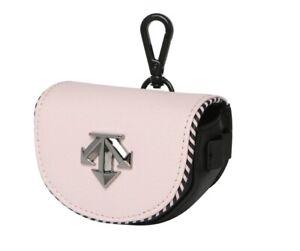 Descente Golf 21FW Female Half Ball Case Pink Color