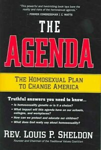Agenda, The by Louis P Sheldon 9781591857969   Brand New   Free US Shipping