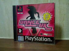 DANCE UK - sony playstation PS1 game - complete with manual