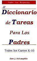 Diccionario de Tareas para los padres Spanish Edition