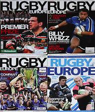 Revista Rugby Europa 4 temas-Heineken Taza/Parker Pen Escudo