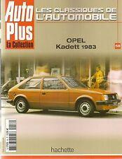 LES CLASSIQUES DE L'AUTOMOBILE 58 OPEL KADETT & KADETT GSi 83 91 OPEL MANTA A