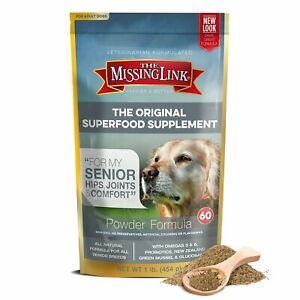 The Missing Link Hip & Joint Support Senior Dogs 1LB exp 11/04/22 USA