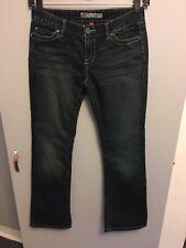 "BKE Denim Culture Women's Size 29 Boot Cut Stretch Jeans Actual 30"" Waist"