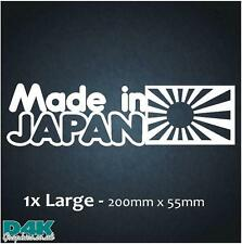 MADE IN JAPAN - Vinyl /Dub/JDM/Drift/Honda/Funny/Car/Window/Sticker/Decal