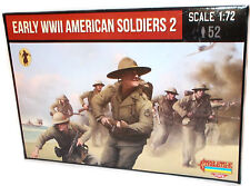 Strelets - Early WWII American soldiers 2 - 1:72