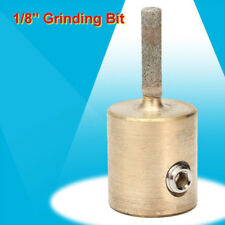 1/8'' Glass Grinder Bit Head Stained Glass Grinder Tools for Glass Stone Brass