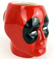 Marvel DeadPool 3D Head Red 20oz Ceramic Mug Coffee Cup Tea Hot Chocolate
