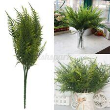 1-10Pack Artificial Asparagus Fern Bush Green Foliage Wedding Home Leaf