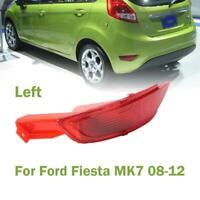 Left Side Rear Bumper Reflector Light For Ford Fiesta Mk7 Hatchback 2008-2012