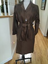 Agnona woman skirts suite  Brown size 50 Skirts Jacket Size 48  made in Italy