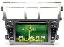 Android 5.1.1 Car Stereo Radio DVD Player GPS Navigation For Toyota Yaris sedan