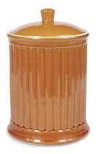 Omni Houseware Simsbury Extra Large Stoneware Canister/ Cookie Jar - Honey Spice