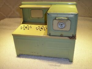 Vintage Childs  Girard  Toys  Electric  Stove Oven Metal  Good Condition
