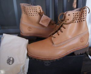 NEW TIMBERLAND® X HORWEEN 6-IN PREMIUM PERFORATED COLLAR BARE NAKED  US 7 -- 14