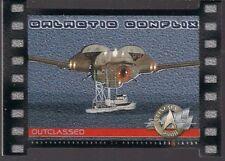 STAR TREK CINEMA 2000 SKYBOX GALACTIC CONFLIX DIE-CUT CHASE CARD GC4 #708/1000
