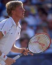 1986 Tennis Pro BORIS BECKER Glossy 8x10 Photo Print Wimbledon US Open Poster