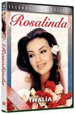 THALIA ROSALINDA * Telenovela Novela 2-DVD 1999 Fernando Carrillo 550 MIn +9Hrs