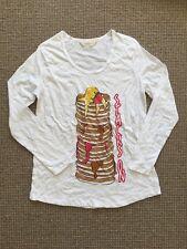 Brand New Peter Alexander Women's Pancake Pyjama Top T Shirt Sz M
