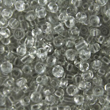 Seed Round 3 - 3.9 mm Size Jewellery Making Craft Beads