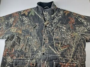 Cabela's Men 5XL Tall Camo Hunting Jacket Barn Coat Thinsulate Quilt Camouflage