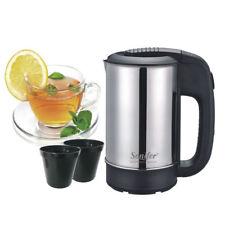 Electric Kettle 0.5L Stainless Steel Water Boiler Tea Jug Travel Coffee Mug Cup