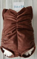 """Reborn Doe Suede body  fits  20"""" kits full arm front loading legs brown"""