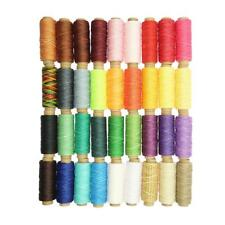36Pcs/Lot 150D Sewing Leather Waxed Thread Fit Leathercraft Tents Backpacks