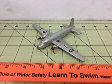 Vintage Metal Dinky Toys Viking twin engine airplane with props, FREE shipping