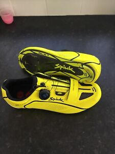 Spiuk Altube Gents Road Cycling Shoes, Yellow, UK 10
