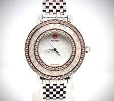 MICHELE MW20E01A1975 CLOTTE CAMES STEEL DIAMOND MOP WATCH LIMITED ADDITION