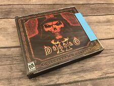 Diablo II 2 Collector's Edition PC Windows 2000 w/ CD Key *Read Description