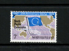 (Ref-6092) Norfolk Islands 1972 South Pacific Commission SG.126 Mint (MNH)