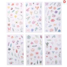 45x Kawaii Journal Diary Decor Flower Stickers Scrapbooking Stationery SupplRSDE