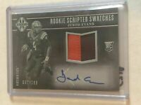 C219 - JEROD EVANS - 2017 MAJESTIC RC SCRIPTED RC SWATCHES AUTO PATCH /199