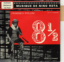 BOF 8 1/2 NINO ROTA FRENCH ORIG EP OST