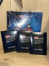 NEW Topps Now NHL Sticker Album w/4 Packs of Stickers 2019-20 Sticker Collection