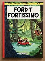 Marc LEBUT & Son VOISIN 12 FORD T FORTISSIMO EO 1978 Superbe État Univers Spirou