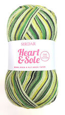 SIRDAR Heart & Sole Wool Rich 4 Ply Sock Yarn Color 162