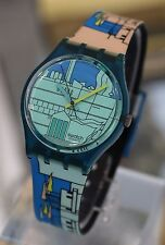 SWATCH --- Metrospace From 1990 Collection NEW!