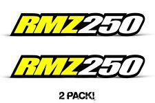 AMR Racing Suzuki RMZ 250 Swingarm Graphic Kit Number Plate Decal Sticker Part