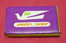 Vtg BI Braniff International Airlines First Class Airplane Soap Bar 1960s Rare