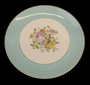 Cunningham Pickett China DANUBE Dinner Plate Hand Decorated Mid Century