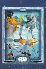 Star Wars Card Trader Illustrated Hoth #4 Snowtroopers CTI