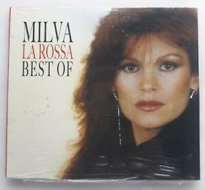 Milva La Rossa Best Of 2 CD Nuovo da edicola.
