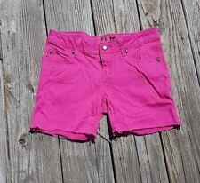 Tripp NYC Punk Rock Goth Hot Topic Pink Cut Off Stretch Jean Denim Shorts Size 3