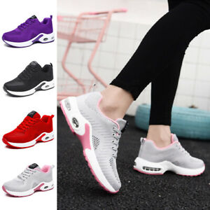 Womens Athletic Trainers Running Sneakers Casual Walking Tennis Gym Sports Shoes